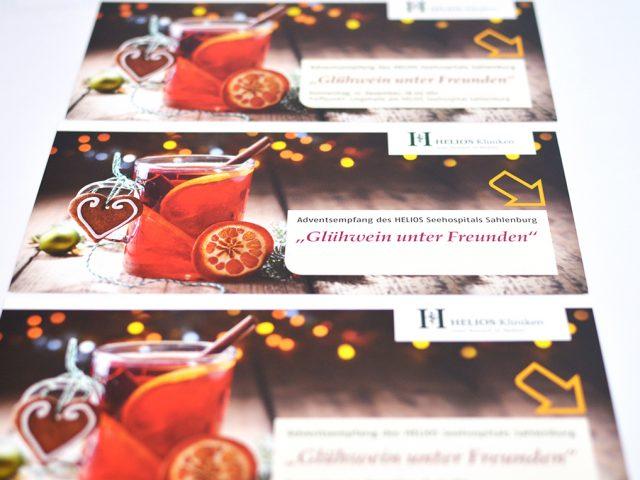 Weihnachtskarte Einladung